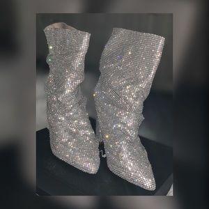 Fashion Nova Shoes - Bing Slouch Booties